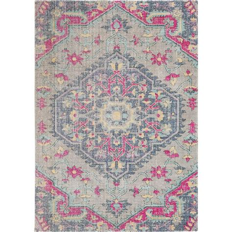 pink and grey area rug grey pink rug rugs ideas