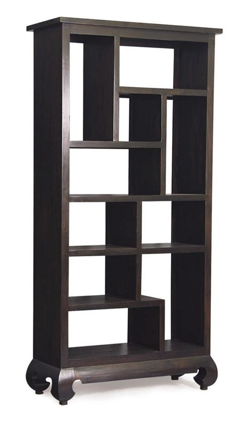 oriental bookcase asian style display cabinet oriental