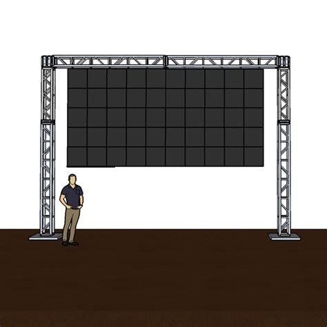truss mounted wall panels for the ultimate in