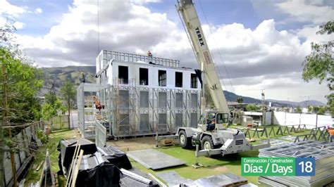 Time-lapse construction - Modular Build - YouTube