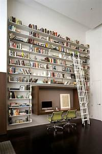 10 Outstanding Home Library Design Ideas - DigsDigs