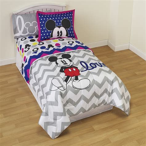 Disney Twinfull Comforter  Mickey Mouse  Home Bed