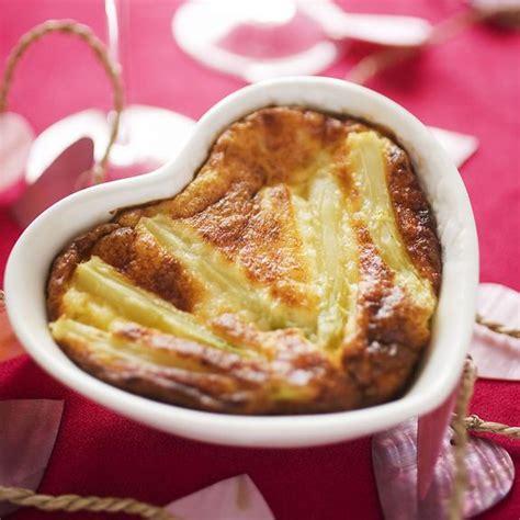 cuisine valentin recette valentin flan d 39 asperge et parmesan en
