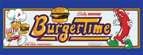 Burger Time Details Launchbox Games Database