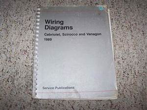 1989 Vw Volkswagen Scirocco Electrical Wiring Diagram