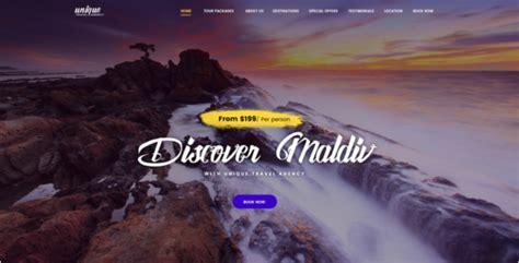 tourism website design free templates 60 tourism website templates free responsive psd designs