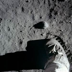 Neil Armstrong is first to step on the Moon, 20 July 1969