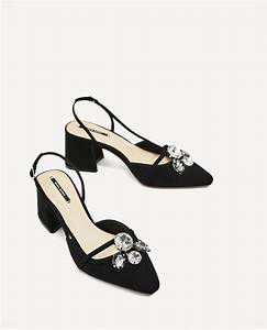 Zara zapato destalonado joya