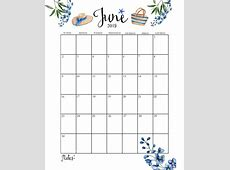 Cute 2019 Monthly Calendar Calendar 2019