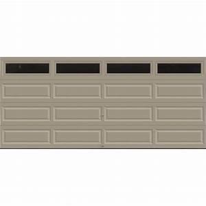 clopay premium series 16 ft x 7 ft 184 r value With 16 foot overhead garage door