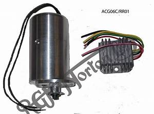 Alton Ac Generator With Sprocket  Bsa  Twin