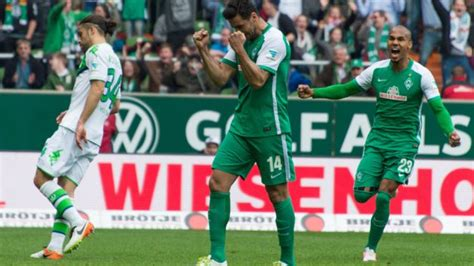 However, the bundesliga has seen other champions, with borussia dortmund, hamburger sv, werder bremen, borussia mönchengladbach, and vfb stuttgart most prominent among them. Bundesliga   Bundesliga Matchday 30   SV Werder Bremen 3-2 VfL Wolfsburg   Post-match reaction