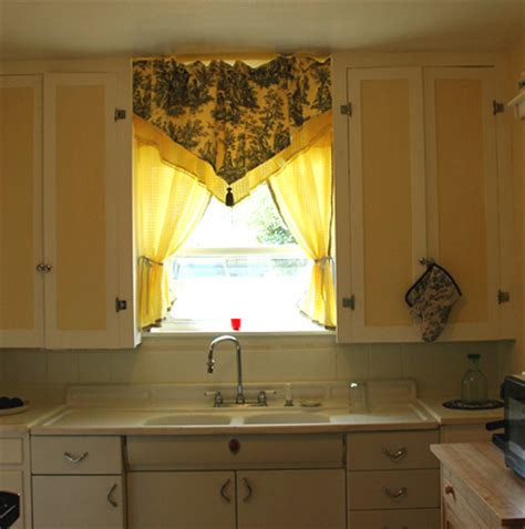 curtains touch french country style vintage kitchen danz