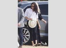 Meghan Markle Wears Pants to Polo Event—Her Most Casual