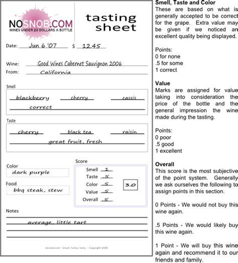 rating system nosnob com wine reviews