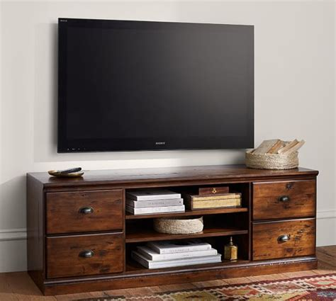 pottery barn tv stand printer s tv stand pottery barn
