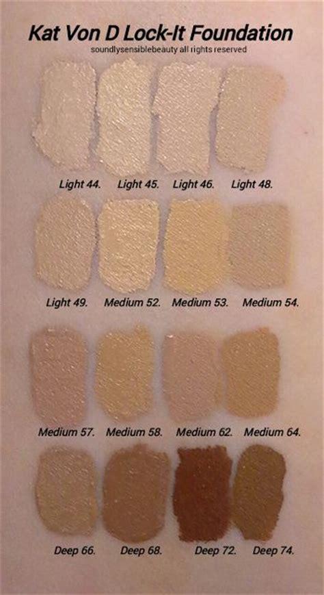 kat von d foundation light 42 17 best images about makeup swatches on pinterest nyx