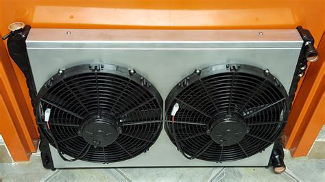aluminum fan shroud fabrication custom all metal copper and brass high efficiency double