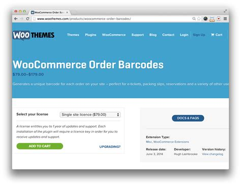 Woocommerce Plugin woocommerce order barcodes plugin 2276 x 1764 · png