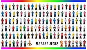 Power Rangers Ranger Keys by LavenderRanger on DeviantArt
