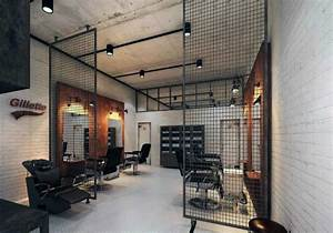 Industrial Style Shop : top 80 best barber shop design ideas manly interior decor ~ Frokenaadalensverden.com Haus und Dekorationen