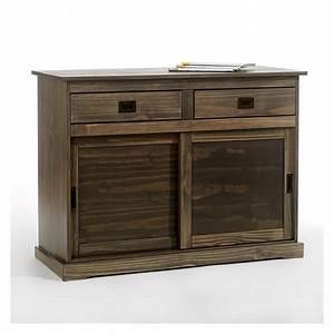 Vaisselier Pin Massif : buffet commode vaisselier 2 portes 2 tiroirs pin massif ebay ~ Teatrodelosmanantiales.com Idées de Décoration