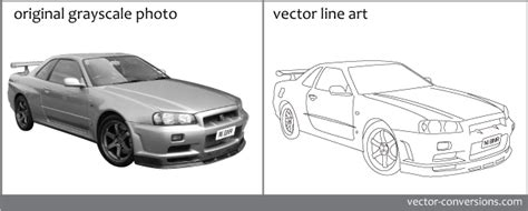 The file itself is made up of vector data coupled with metadata and either 2d or 3d cad drawings. Line art vs Grayscale vector conversion