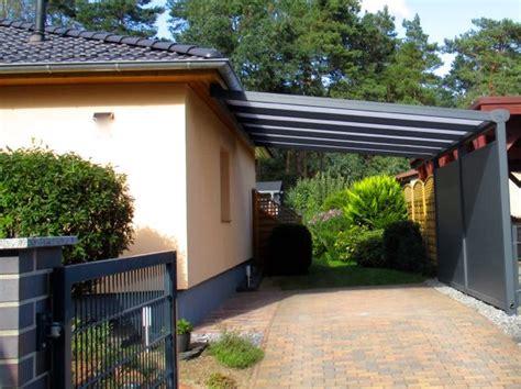 Anbau Carport Trendline  Hauseingang  Pinterest Anbau