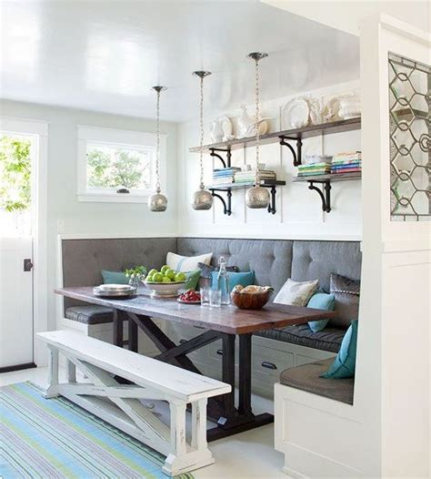 kitchen nooks with storage 18 cozy and adorable breakfast nook ideas small house decor 5423