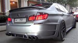 Arab Hamann Bmw M5 F10 W  Akrapovic Exhaust