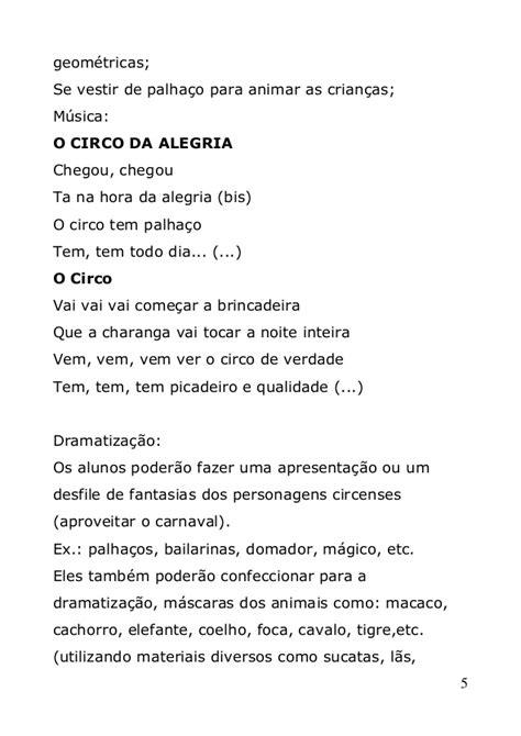 Projeto Circo (em word)