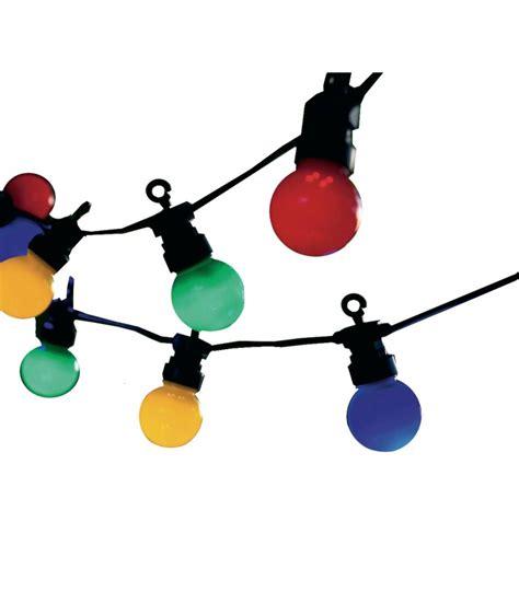 guirlande extérieure guinguette guirlande lumineuse ext 233 rieure leds multicolore guinguette