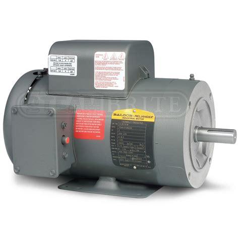 Baldor Electric Motors by Baldor Motor Pcl3519m 3 0hp Single Phase 3450 Rpm 56c