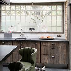 Reclaimed Wood Kitchen  Kitchen Decorating Ideas