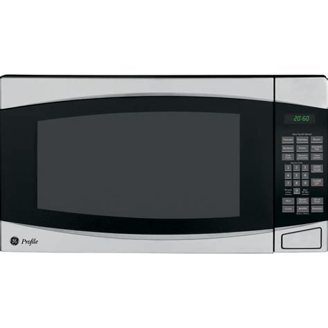 ge countertop microwave shop ge profile 2 cu ft 1 200 watt countertop microwave