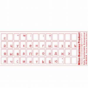 high quality portable alphabet russian letters cover With russian letters keyboard