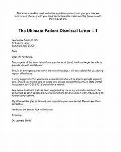the ultimate patient dismissal letter 1 the madow brothers With dental letters to patients for treatment