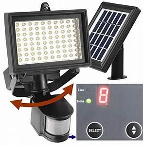 led solar powered outdoor garden motion sensor security With outdoor motion sensor lights with timer