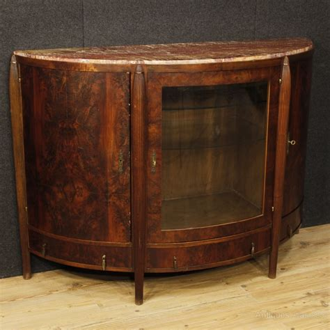 Deco Sideboards by Deco Sideboard In Mahogany Wood Antiques Atlas