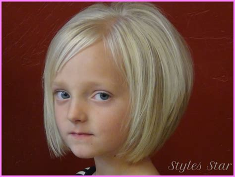 Little Girls Short Haircuts With Bangs