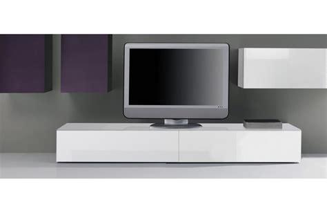 alinea cuisine catalogue meuble tv bas blanc laque