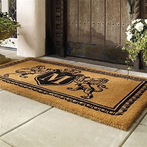 Front Door Mats by Personalized Front Door Mats Door Design Ideas On