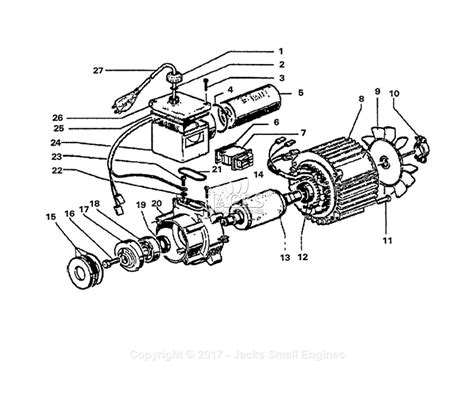 Club Car Wiring 1900 by Electric Motor Diagram Parts Wiring Diagram Oline For