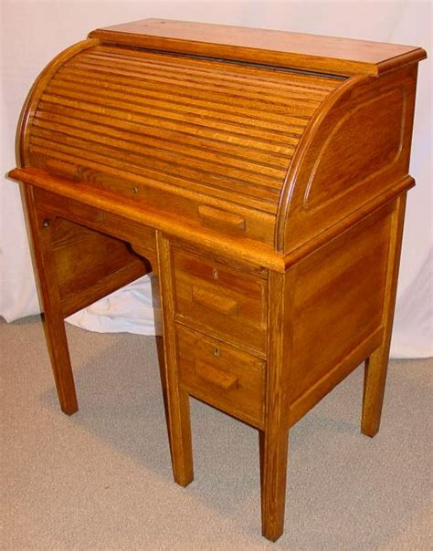 Antique Childs Roll Top Desk Home Furniture Design