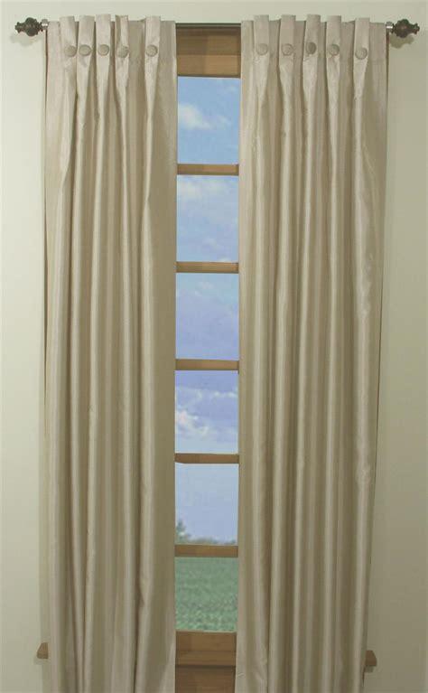 artisan box pleated curtain panels