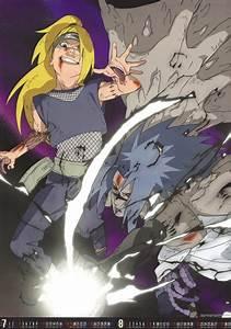 Deidara vs sasuke - naruto - mangas et dessins animés ...