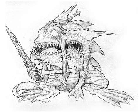 polidorus rex wrath   lich king creature concepts
