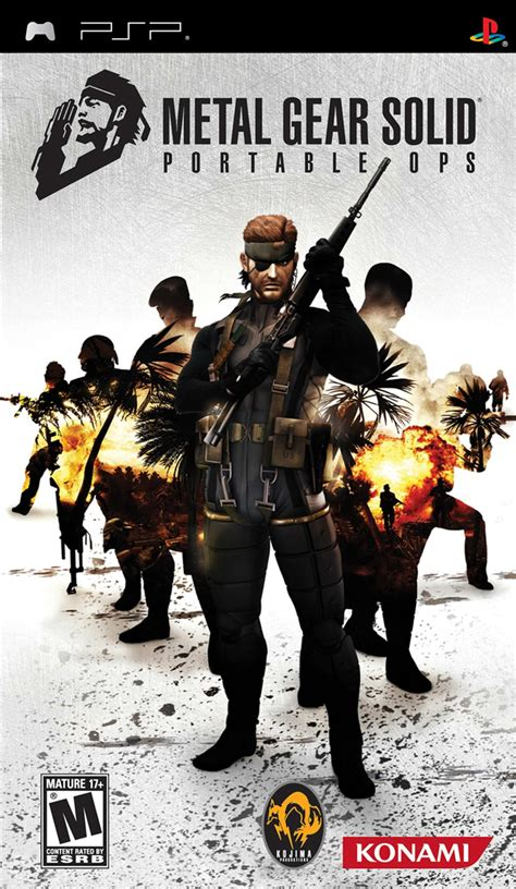 Metal Gear Solid Portable Ops Details Launchbox Games