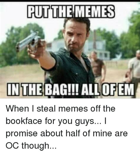 Put The Memes In The Bag - put the memes in the bag allofem when i steal memes off the bookface for you guys i promise