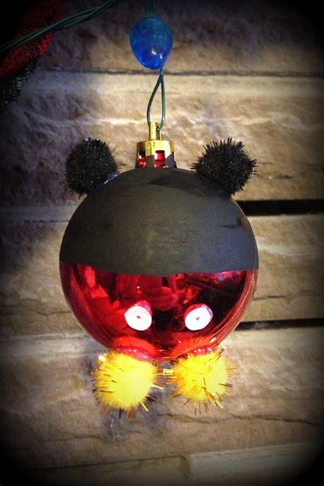 mickey mouse christmas ornamentdiy ill  home